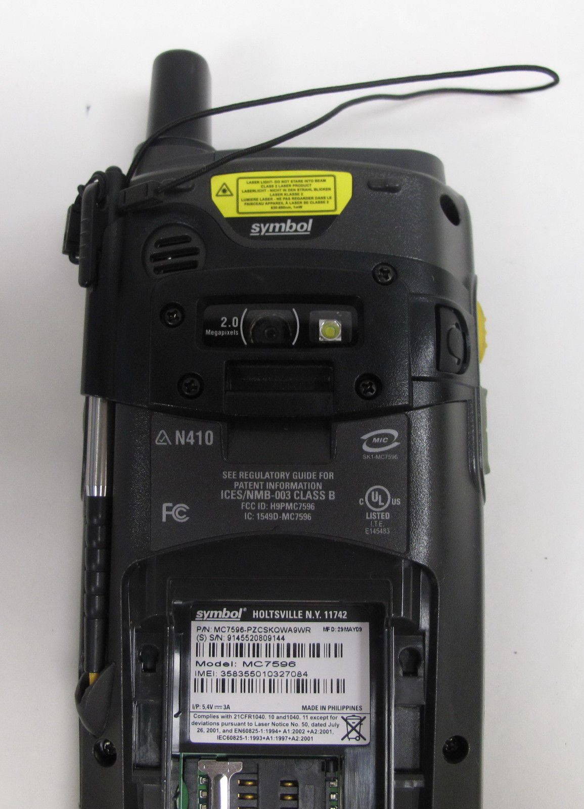 Motorola Symbol Barcode Scanner MC7596 and 35 similar items