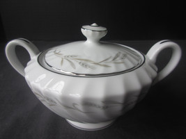 "M Japan Sugar Bowl Wheaton Pattern #3555  4"" high - $4.47"