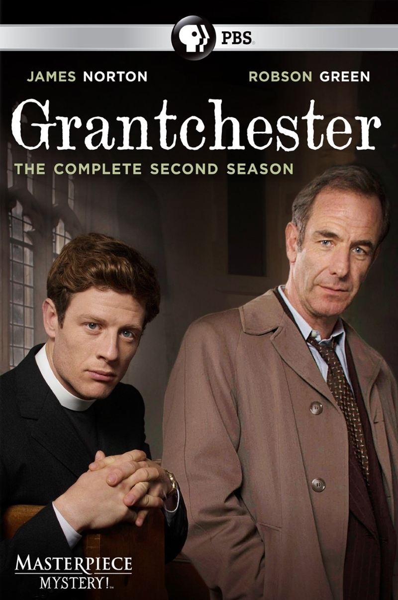 Grantchester Second Season Two 2 (2016, 2-Disc) Robson Green James Norton
