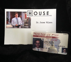 """TV SERIES HOUSE MD EXACT REPLICA COLLECTOR PROP """"JAMES WILSON"""" DRIVERS L... - $12.16"""