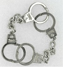 "VINTAGE SIGNED TRIPP HANDCUFF BRACELET STAINLESS STEEL 8"" - $16.39"