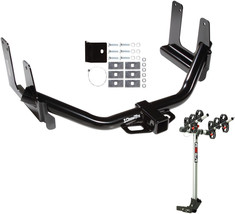 2004 2005 Ford F 150 Incl. Supercrew Trailer Hitch + Rola 3 Bike Rack Package - $381.94