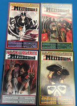 MELTDOWN Havok & Wolverine set (4) #1-2-3-4 (1988-1989) Marvel Comics Sq... - $14.84