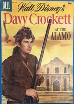 DAVY CROCKETT AT THE ALAMO (1955) Dell Four Color Comics #639 VG+ - $24.74