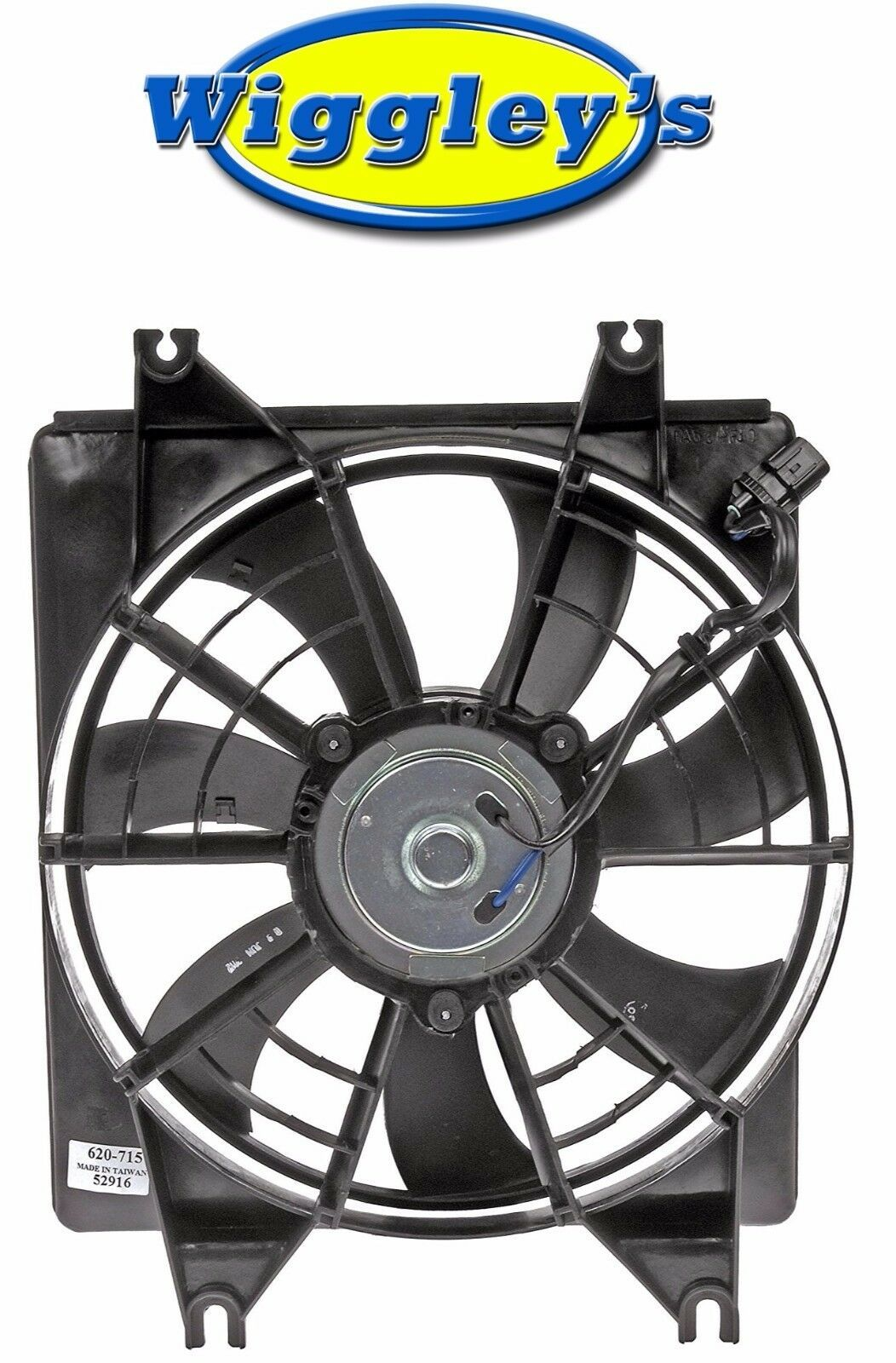 A/C COOLING FAN ASSEMBLY HY3113101 FOR 95 96 97 98 99 HYUNDAI ACCENT 1.5L-L4