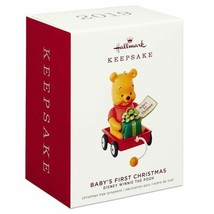 Hallmark Disney Winnie the Pooh Baby's First Christmas Ornament Dated 2019 - $19.59