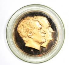 "1979 Inaugural Committee Bronze Proof Medal Nixon Spiro 2-3/4"" - $9.89"
