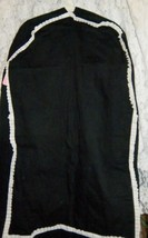 """Black Twill Garment Bag  34"""" X 20"""" - $20.99"""