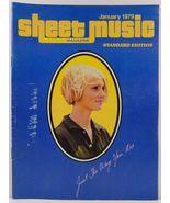 Sheet Music Magazine January 1979 Standard Edition - $3.99
