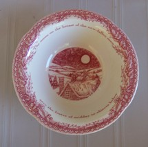 "Noble Excellence Twas The Night Christmas 6"" Cereal Bowl - $14.99"