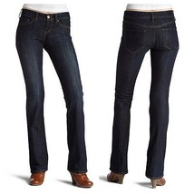 $74 NWOT sz 25 !iT Jeans Juniors Belle Comfort Rider Boot Cut Jean Dark ... - $25.64