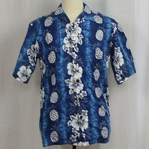 Hilo Hattie Short Sleeve Floral Hawaiian Aloha Camp Shirt 100% Cotton Sz... - $23.38