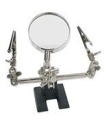 Third Helping Hand TOOL 4x MAGNIFIER w/ CLAMPS for Soldering  + Jewelry ... - $9.51