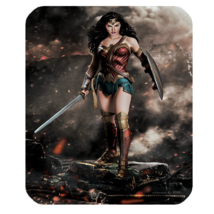 Mouse Pads Wonder Woman Sexy Beautiful Superheroes Girl Sword Shield Mou... - $114,51 MXN
