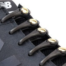 Hickies No Tie Laces/ Black & Gold/ Sports & Golf / Match Your Fashion F... - $16.95
