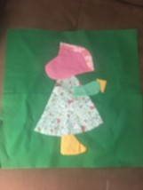 Holly Hobby Girl Quilting Square - $7.25