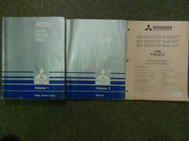 1990 Mitsubishi Truck Service Repair Shop Manual 3 Volume Set Factory Oem 2 Vol - $74.20