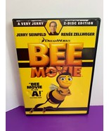 Bee Movie (DVD, 2008, 2-Disc Set, Special Edition) Dreamworks Jerry Sein... - $4.99