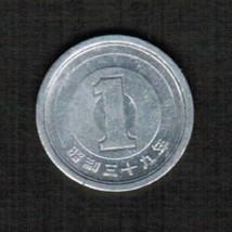JAPAN 1 YEN 1964 (SHOWA 39) (Y # 74)  #4796 - $1.98