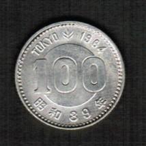 JAPAN 100 YEN SILVER 1964 (SHOWA 39) (Y # 79)  #4800 - $6.88