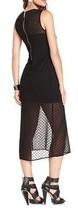 Kensie Dress Sleeveless High-Neck Swiss-Dot Very Fine Chiffon NWT Retails $128 - $54.99