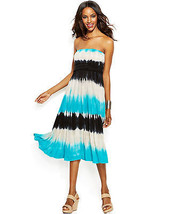 INC International Concepts Dress Skirt ConvertibleTie Dye Sz PL  - $37.61