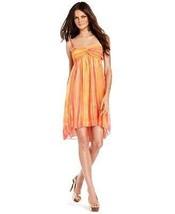 INC International Concepts Dress Spaghetti-Strap Babydoll size 4 multi-c... - $34.64