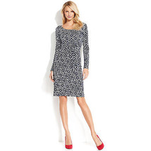 INC International Concepts Dress Printed Tie-waist  PM as pictured - $39.59