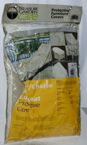 Treasure Garden Care CP112 Protective Cover High Back Chair Champagne Color