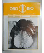 ORO BIO 1/4LY MAGAZINE of the DENTAL RESEARCH INSTITUTE UCLA WINTER 1981... - $9.90