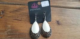 Paparazzi Earrings (New) #521 Prime Time White - $8.58