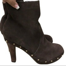 Colin Stuart boots heels Brown Women's Size 8 - $19.31
