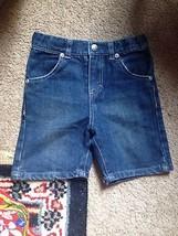DKNY baby toddler jeans denim shorts 24 months blue - $16.98