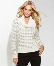 INC International Concept Sweater  sz PXL metallic - $35.63