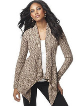 INC International Concept  Sweater Long Sleeves Open Front as pictured M - $36.62