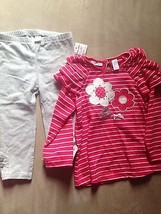 First Impressions baby infant girls 2 piece set  24 mnths pink - $17.98