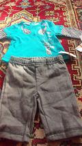 Calvin Klein Jeans Baby Set Top & Pants Sz 0-3 mnths Mul-ticolor  $44.50 - $19.78