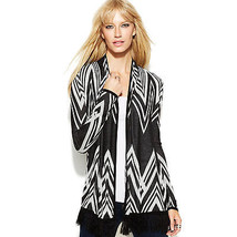 INC International Concepts Sweater Cardigan long sleeve open front fring... - $34.64