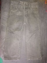 DKNY kids toddler boys jeans 4T gray fits size between 3T to 4T - $9.89