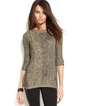 INC International Concept Women Sweater  sz S metallic - $32.66