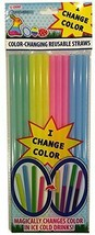 Color Changing Reusable Straws - Easter Fun 1 Pack,  - $11.63