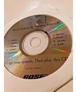 Bose Lifestyle 12 System Test CD Multiple Languages Set Up Speaker Testing  - $9.89