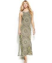 INC International Concepts Dress Maxi printed sz L  001234567 - $46.99