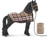 Schleich North America Frisian Horse Care Set Blanket Feed Bag Halter