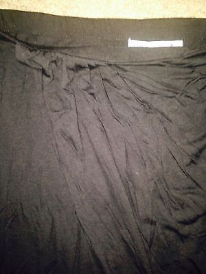 Macys Neon women Skirt wrap Mini black sz S fits M