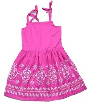 Gymboree Girls Pink Dress w/White & Gold Accent... - $14.89
