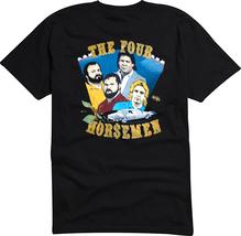 The Original Four Horsemen Wrestling  Shirt Tully, Ole, Arn, Ric, JJ. Dillan - $38.00