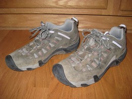 Keen leather hiking shoes, women size 11 - $27.94