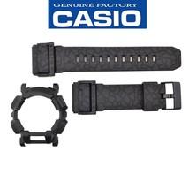 Genuine Casio G-Shock GD-400HUF-1 Black Watch Band & Black Bezel Rubber Set - $99.95