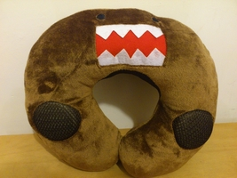 DOMO KUN Kawaii Anime Animal Beanie Neck Cushion Furry Plush with Speaker - €8,78 EUR